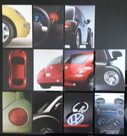 Volkswagen NEW BEATLE Lot De 11 Carte Postale - Passenger Cars