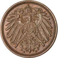 Monnaie, GERMANY - EMPIRE, Wilhelm II, Pfennig, 1912, Muldenhütten, TTB - [ 2] 1871-1918 : Imperio Alemán