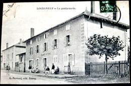 01 LOGIS NEUF LA  GENDARMERIE LA MARECHAUSSEE A LA POSE ET AUX BALCONS - France