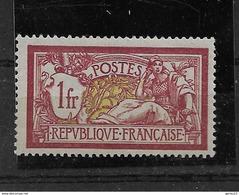 MERSON   N° 121**     NEUF SANS CHARNIERE   MNH        COTE 110  EUROS - France