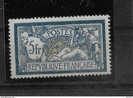 MERSON   N° 123**     NEUF SANS CHARNIERE   MNH        COTE 325  EUROS  SIGNE - France
