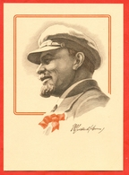 USSR 1969. Lenin V.I. Post Card With A Printed Stamp. - Historische Persönlichkeiten