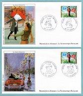 FDC France 1985 -  La Saint Valentin - Les Amoureux De Peynet - YT 2354 - 36 St Valentin - FDC