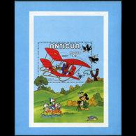 ANTIGUA 1980 - Scott# 571 S/S Disney-IYC MNH - Antigua And Barbuda (1981-...)