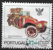 Portugal – 1981 Firemen 27.00 Used Stamp - 1910-... République