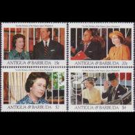 ANTIGUA 1991 - Scott# 1447/52 QEII Birthday MNH - Antigua Und Barbuda (1981-...)