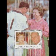 ANTIGUA 1991 - Scott# 1454 S/S QEII Birthday MNH - Antigua Und Barbuda (1981-...)