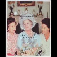 ANTIGUA 1995 - Scott# 1910 S/S Queen Mother MNH - Antigua Und Barbuda (1981-...)