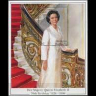 ANTIGUA 1996 - Scott# 2002 S/S QEII Birth Day MNH - Antigua Und Barbuda (1981-...)