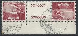 JJ-/-396-  Tête-bêche  Avec Pont, N° 485b,  Obl. Avec DATE  D'IMPRESSION Du 23.01.1952 ,  Cote 4.00 €   , Je Liquide - Tête-Bêche