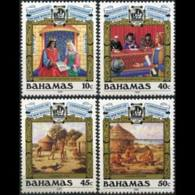 BAHAMAS 1988 - Scott# 640-3 Columbus Set Of 4 MNH - Bahamas (1973-...)