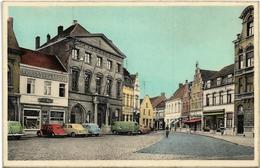Waregem   *   Stadhuis En J. Stormestraat  (Oldtimers - Volkswagen Kever ) - Waregem
