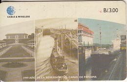 PANAMA(chip) - 1999 Ano De La Reversion Del Canal De Panama 1, Used - Panama