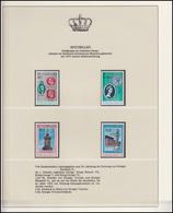 Seychellen Jubiläum Elizabeth II. Portraits Könige Victoria-Denkmal, 4 Marken ** - Case Reali