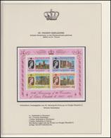St. Vincent Und Grenada Jubiläum Elizabeth II. & Kathedralen, Block ** - Royalties, Royals
