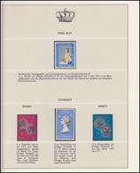 Insel Man & Jersey & Guernsey Jubiläum Elizabeth II. Portraits 1978, 4 Marken ** - Case Reali