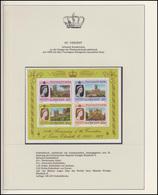 St. Vincent Jubiläum Elizabeth II. Portrait & Britische Kathedralen, Block ** - Royalties, Royals