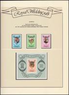Barbuda: Royal Wedding 1981 Lady Diana & Charles, 3 Marken Und 1 Block ** - Royalties, Royals