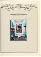 Korea: Royal Wedding 1981 Lady Diana & Charles, Block ** Auf Albumblatt - Royalties, Royals