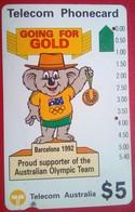 $% Australian Olympics Go For Gold - Australia
