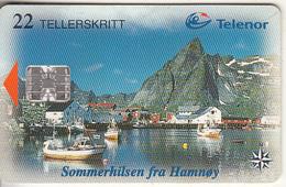 NORWAY - Hamnoy(122), CN : 86025008, Tirage 19942, 06/98, Used - Noorwegen
