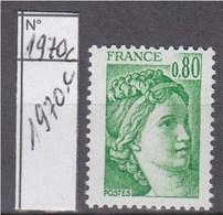Sabine De Gandon Neuf N°1970c Gomme Tropicale 0f80 Vert Sans Phosphore - 1977-81 Sabine De Gandon