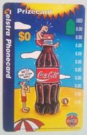 Australia Coca Cola Prizecard - Australia