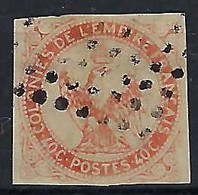 FRANCE Colonies Générales: Le Y&T 5  Obl. Losange De Points Signé Au Dos  B - Águila Imperial