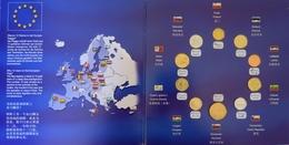 """0220 - PLAQUETTE """"dernières Monnaies Européennes"""" - Münzen"""