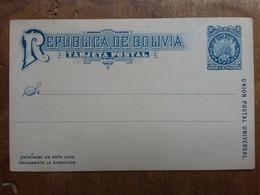 BOLIVIA - Cartolina Postale Nuova Inizio '900 + Spese Postali - Bolivië