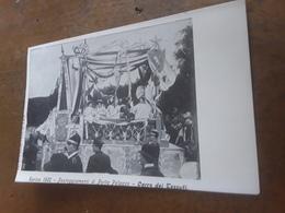 Cartolina Postale Illustrata 1902, Torino, Festeggiamenti Di Porta Palazzo, Carro Dei Tessuti - Italy
