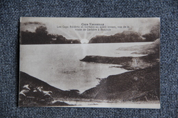 Les Caps Rédéric Et Cerbère Au Soleil Levant, Vus De La Route De CERBERE à BANYULS. - Cerbere