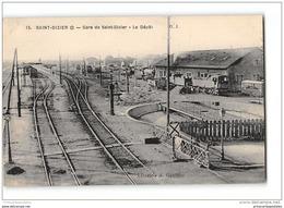 CPA 52 Saint Dizier La Gare Le Depot Et Le Train - Saint Dizier