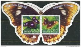 Pitcairn Isl. 2005 Michel Bl.#39 MNH/Luxe. Insects. Butterflies (Ts20/42/B25) - Briefmarken