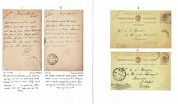 BOER WAR SERVICE SUSPENDED JAGERSFONTEIN ORANGE FREE STATE STATIONERY 1899 - Oranje-Freistaat (1868-1909)