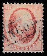 1864 Koning Willem III 10 Ct.  NVPH 5 - Gebraucht