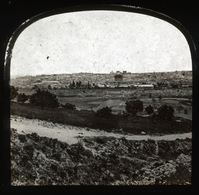 Glass Stereoview - JERUSALEM By Francis Frith - Visionneuses Stéréoscopiques