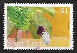 SAINT LUCIA 2005 FLOWERING FRUIT BANANA - St.Lucia (1979-...)