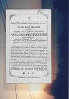 MARIA VLOEBERGHS-GEMEENTE SECRETARIS-NOORDERWIJK--DOODSPRENTJE - Images Religieuses