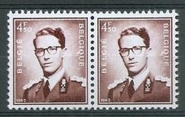 BELGIE Boudewijn Bril * Nr 1068A P3a * Postfris Xx * FLUOR  PAPIER - 1953-1972 Glasses
