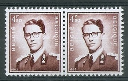 BELGIE Boudewijn Bril * Nr 1068A P3a * Postfris Xx * FLUOR  PAPIER - 1953-1972 Anteojos