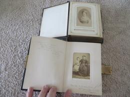 Photo Sur Carton ,, Je Crois Avant 1900 , 2 Petits Album Toutes Les Photos ,sont Visibles,lire Description - Antiche (ante 1900)