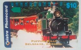 $10 Puffing Billy , Belgrave Victoria - Australia