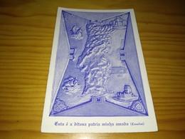 """Postcard Portuguese, Postal Portugal """"Centenários De Portugal 1940, Esta é A Ditosa Pátria Minha Amada"""" CAMÕES - Portugal"""