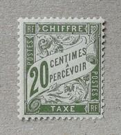 FRANCE 1906 TAXE 31 MNH** - France