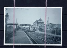 PHOTO  REPRO STATION JEUK ROSOUX GOYER BERLOZ LIEGE - Gares - Sans Trains