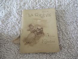 SUR LA GREVE ,,idylle Enfantine - Books, Magazines, Comics
