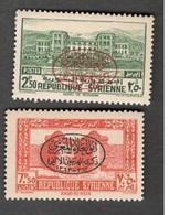 SYRIA...1944:Yvert Syria276-7mnh** - Syria (1919-1945)