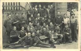 GUERRE 1939-45 - Prisonniers Au Camp D'Elsterhorst;cachet Stalag IV A; Carte Photo En 1942. - Guerre 1939-45