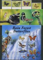 St. Vincent & Grenadines 2001. Michel #5239/54+Bl.#547/48 MNH/Luxe. Insects. Butterflies (Ts58) - St.-Vincent En De Grenadines